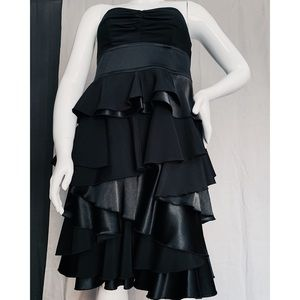 Torrid Black Tiered Ruffle Strapless Party Dress12